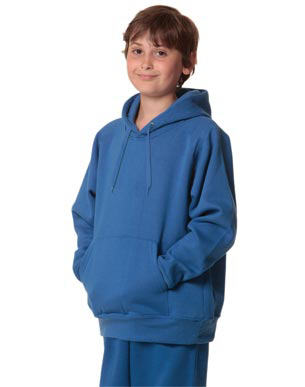 Picture of Winning Spirit - FL09K - Kid's Unisex Close Front Fleecy Hoodie