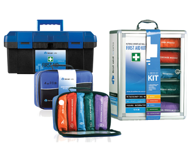 Picture of VisionSafe -FAWGP - GENERAL PURPOSE SMALL PORTABLE FIRST AID KIT