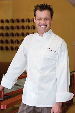 Picture of Chef Works - ECHR - Madrid Egyptian Cotton Chef Coat