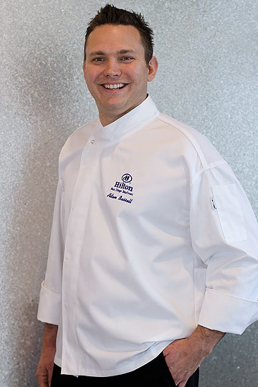Picture of Chef Works - PCDF - Tours White Executive Cool Vent™ Chef Coat
