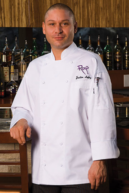Picture of Chef Works - EWCC - Lyon White Executive Chef Coat