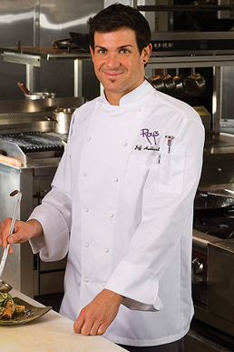 Picture of Chef Works - SE52 - Monza White Executive Chef Coat