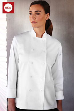 Picture of Chef Works - LWLJ - Sofia Women's Lite Chef Coat
