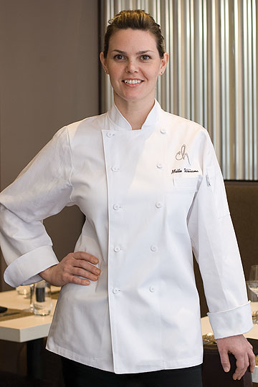 Picture of Chef Works - WECC - St. Tropez Women's Executive Chef Coat