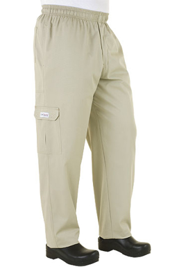 Picture of Chef Works - CPST - Stone Cargo Pant