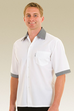Picture of Chef Works - SCCS - Check Contrast Cook Shirt