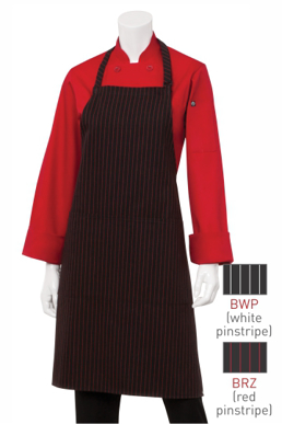 Picture of Chef Works - CSAA-BWP - BlackWhite Bib Apron