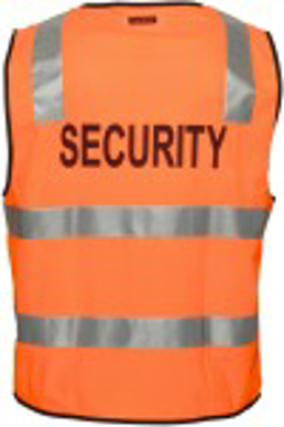 Picture of Uniform Ausralia - HV102Z-S - Stock Printed Security Day/Night Vest