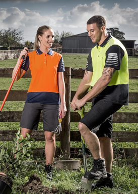 Picture of Syzmik - ZH236 - Mens Hi Vis Zone Polo