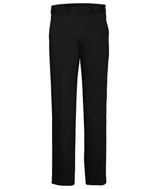 Picture of VAN HEUSEN - AVNT01BLK - VAN HEUSEN BLACK FLAT FRONT, HIGH TWIST YARN, NAIL HEAD FABRIC TROUSER