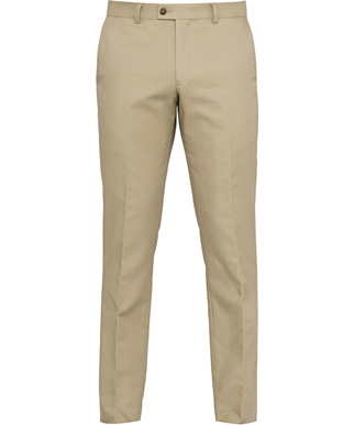 Picture of VAN HEUSEN - AETM875 - VAN HEUSEN 100 % COTTON FLAT FRONT TROUSER