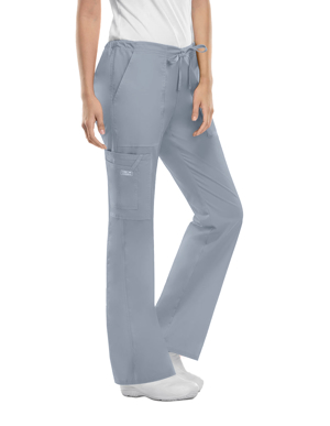 Picture of CHEROKEE-CH-4044P-Cherokee Workwear Womens Petite Drawstring Pants