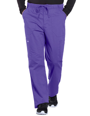 Picture of CHEROKEE-CH-WW190S-Cherokee Workwear Professionals Men's Tapered Leg Drawstring Cargo Petite Pant