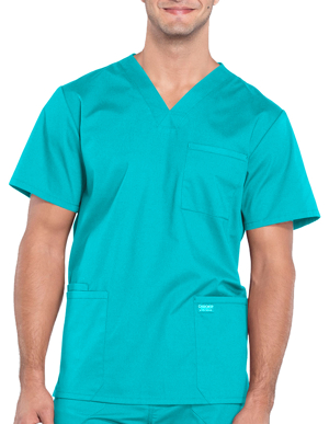 Picture of CHEROKEE- CH-WW695-Cherokee Workwear Professionals Men's V-Neck Basic Top
