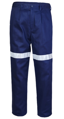 Picture of Ritemate Workwear-RM1002R-Belt Loop Trouser with 3M 8910 Reflective Tape