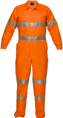 Picture of Prime Mover-MA922- Lightweight Orange Coveralls with tape