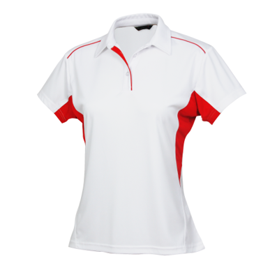 Picture of Stencil Uniforms-1161-Ladies S/S FRESHEN POLO