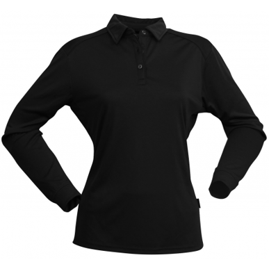 Picture of Stencil Uniforms-1143-Ladies L/S FRESHEN POLO L/S POLO