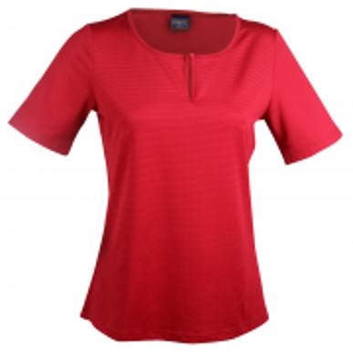 Picture of Stencil Uniforms-1258S-Ladies S/S SILVERTECH S/S LADIES TOP