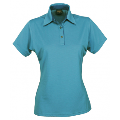 Picture of Stencil Uniforms-1158-Ladies S/S SILVERTECH POLO