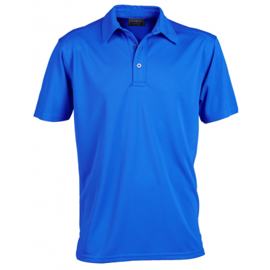 Picture of Stencil Uniforms-1054-Mens S/S GLACIER POLO