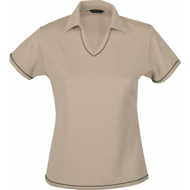 Picture of Stencil Uniforms-1110B-Ladies S/S COOL DRY S/S POLO