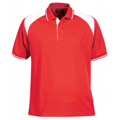 Picture of Stencil Uniforms-1022-Mens S/S CLUB POLO