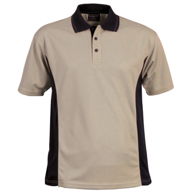 Picture of Stencil Uniforms-1031-Mens S/S ACTIVE POLO