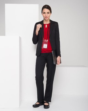 Picture of LSJ Collections-653-ME-Ladies Jacket Single button jacket