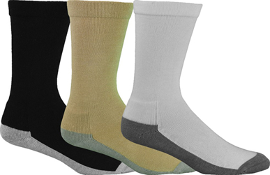 Picture of Bamboo Textiles-BACIRCULATION-Charcoal Circulation Health Socks