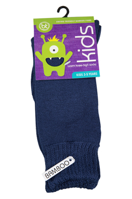 Picture of Bamboo Textiles-BAHIGHHighSKNEE HIGH-Kids Warm Knee High Socks