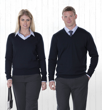 Picture of Gear For Life-EGMDP-Merino Detailed Vee Pullover - Mens