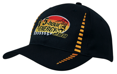 Picture of Headwear Stockist-4010-Breathable Poly Twill with Small Check Patterning