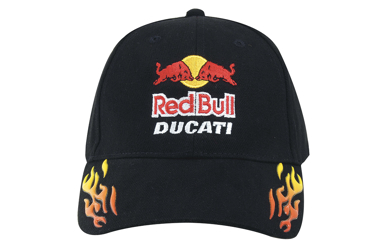 Picture of Headwear Stockist-4016-Brushed Heavy Cotton with Sonic Weld Flames