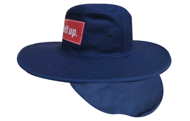 Picture of Headwear Stockist-4055-Canvas Sun Hat