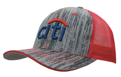 Picture of Headwear Stockist-4144-Wood Printed With Mesh Back