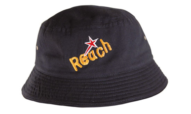 Picture of Headwear Stockist-4166-Childs Brushed Sports Twill Bucket Hat