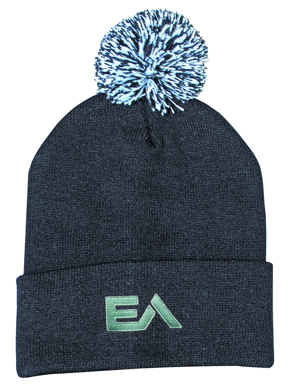 Picture of Headwear Stockist-4256-Acrylic Beanie with Pom Pom