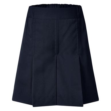 Picture of LW Reid-3886BP-Rose Girls' Box Pleat Gaberdine Shorts