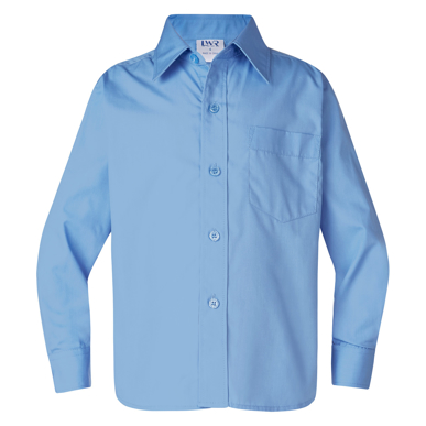 Picture of LW Reid-4856LS-Barton Boys' Long Sleeve School Shirt