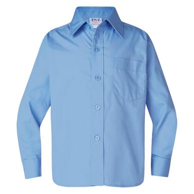 Picture of LW Reid-4856LS-Barton Boys' Long Sleeve School Shirt