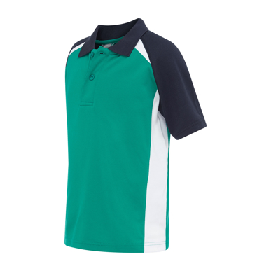 Picture of LW Reid-5760SP-Poidevin Raglan Sports Polo