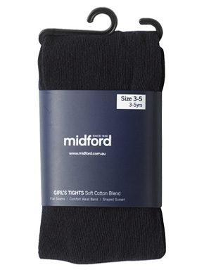 Picture of Midford Uniforms-TIG898-GIRLS COTTON TIGHTS (T898G)
