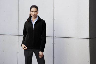Picture of Biz Collection-PF631-Ladies Plain Micro Fleece Jacket