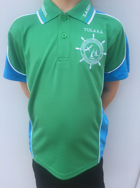 Picture of Sandy Strait School Blue Sports Polo