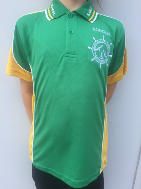 Picture of Sandy Strait School Yellow Sports Polo