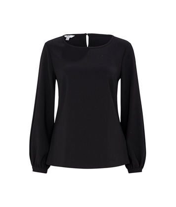 Picture of NNT Uniforms-CATUCM-BLK-Long Sleeve Blouse