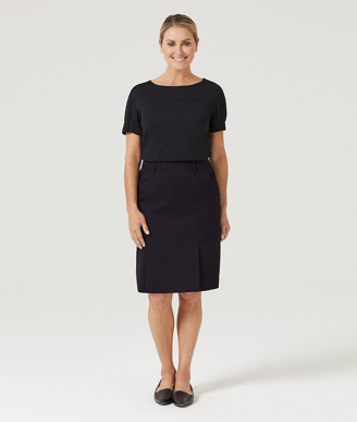 Picture of NNT Uniforms-CAT2QB-INP-Flex Waist Pleat Skirt