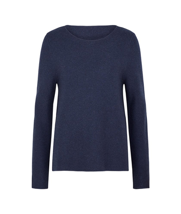 Picture of NNT Uniforms-CAT5CB-NAV-Long Sleeve Knit Jumper