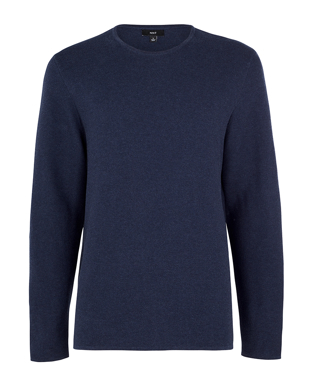 Picture of NNT Uniforms-CATE38-NAV-Long Sleeve Knit Jumper